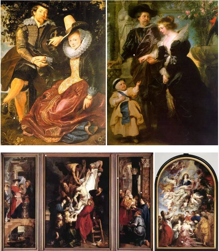 Rubens collage