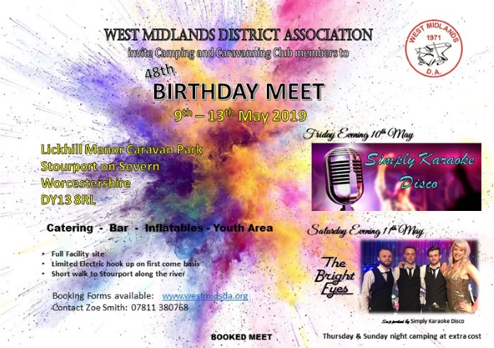 West Midlands DA Birthday Meet