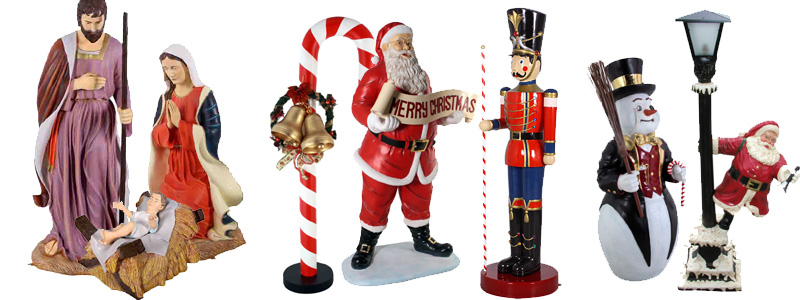 christmas - Large Toy Soldier Christmas Decoration