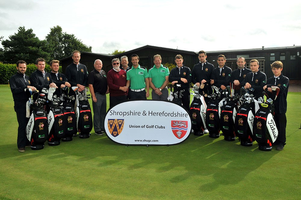 Shropshire & Herefordshire county golf team