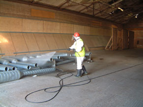 Grain Store Hygiene - Cleaning 2