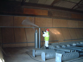 Grain Store Hygiene - Cleaning
